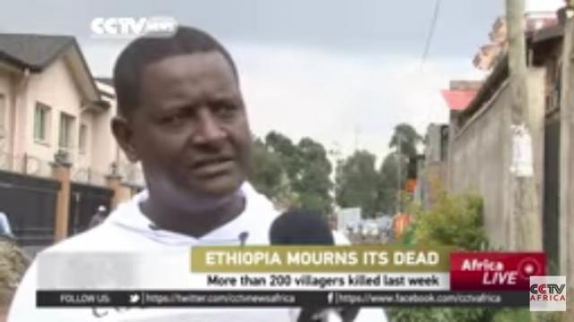 Ethiopian mourns 200 villagers' deaths - CCTV Africa