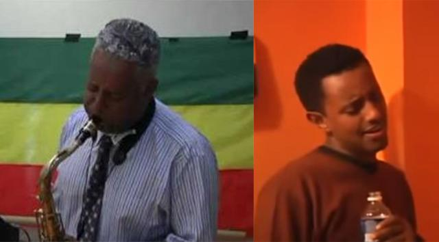 Teddy Afro and Tamagne Beyene Jamming together