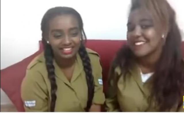 Female Ethiopian Israel soldiers covering Fasil Demoz's songs
