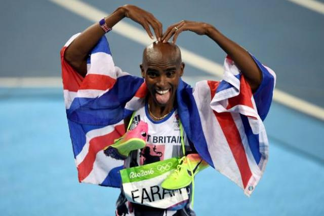 ETHIOPIA - Mo Farah responds to Donald Trump's immigration ban that separates him from his family