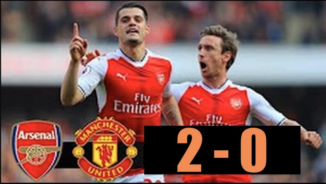 Arsenal vs Manchester United 2-0 All Goals & Highlights