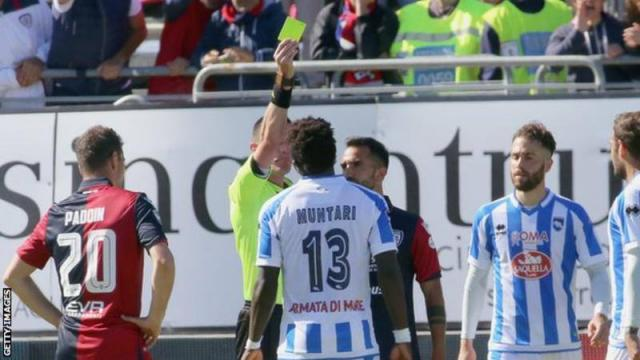 UN hails Ghana's Muntari for walking out of game after racist chants