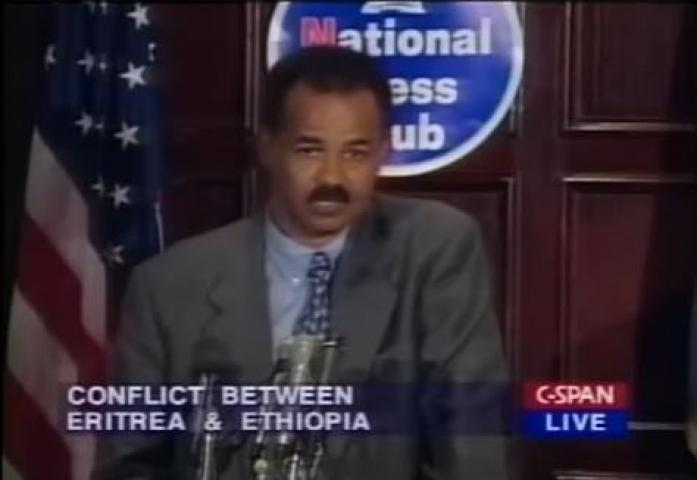 President Isaias Afwerki about the conflict between Eritrea and Ethiopia