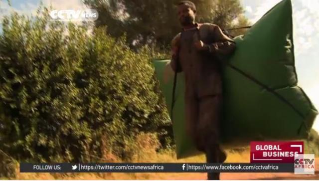 Portable power with Ethiopia's biogas bags