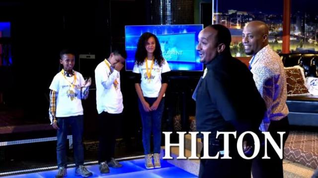Speling Bee Winers, Abiy and Filfilu on Seifu Show