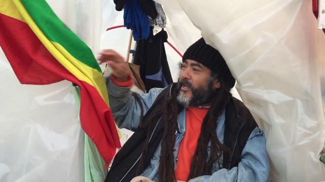 Hunger Strike For Ethiopia by Trump's Nearest Neighbor
