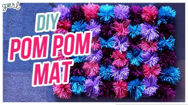 How to Easily Do a Pom Pom Mat