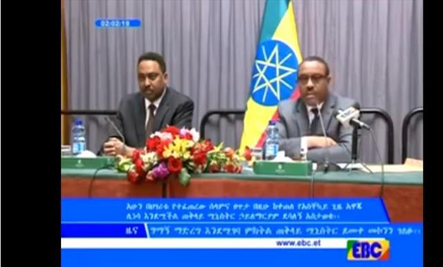 Ethiopia: PM Hailemariam giving details about the State of Emergency to Diplomats