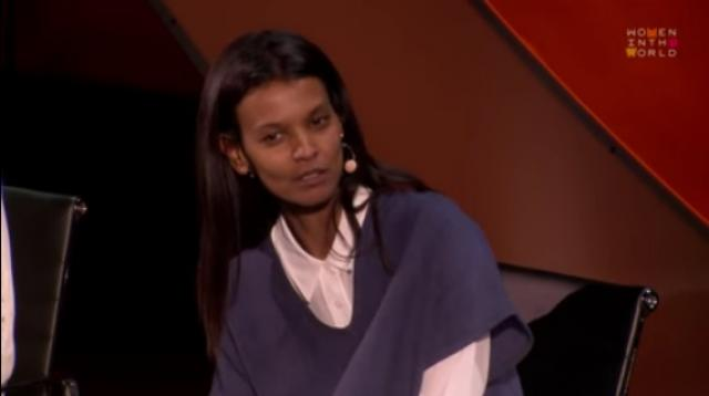 "Liya Kebede: Pregnant women in Ethopia ""have one foot in the grave"""